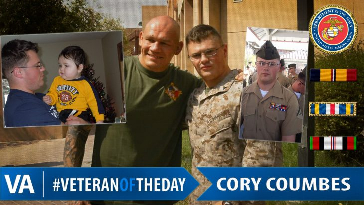 Cory Coumbes - Veteran of the Day