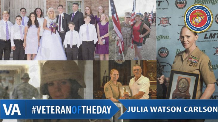 Veteran of the Day Julia Watson Carlson