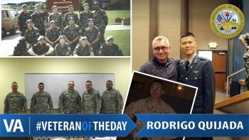 Veteran of the Day Rodrigo Quijada