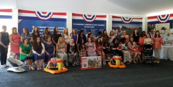 IMAGE: Group picture of mom-to-be attending operation shower.