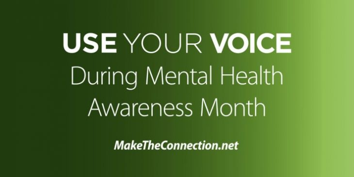 Image: Use Your Voice graphic
