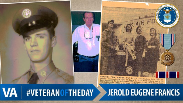 Jerold Eugene Francis - Veteran of the Day