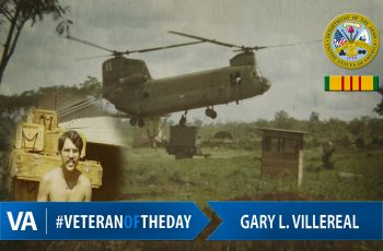 Gary Villereal - Veteran of the Day
