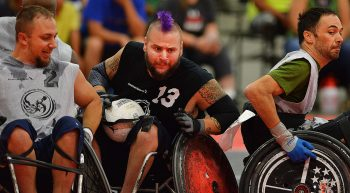 Veterans Compete in National Wheelchair Games