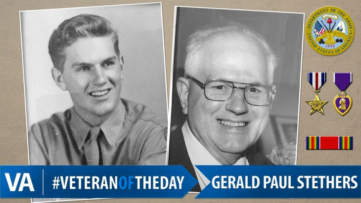 Gerald Paul Stethers - Veteran of the Day