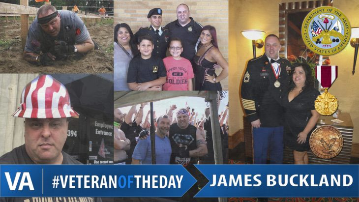 James Buckland - Veteran of the Day