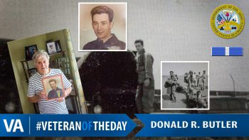 Donald Butler - Veteran of the Day