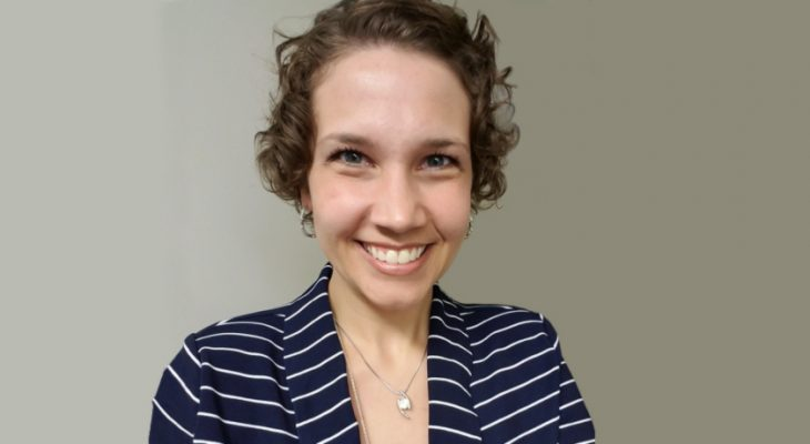 Katie's job is to assist VA home loan holders in the community.