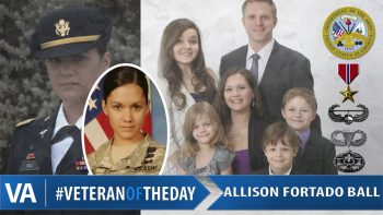 Allison Fortado Ball - Veteran of the Day