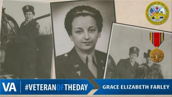 Gracie Farley - Veteran of the Day