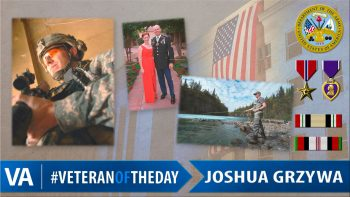 Joshua Grzywa - Veteran of the Day