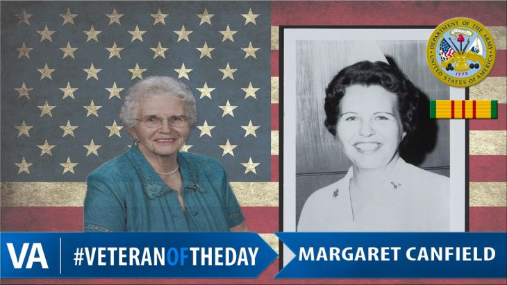 Margaret Canfield - Veteran of the Day