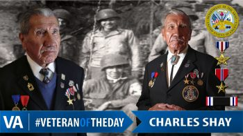 Charles Shay - Veteran of the Day