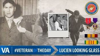 Lucien Looking Glass - Veteran of the Day