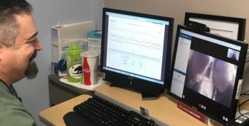 IMAGE: VA employs telehealth technology to provide Veterans same-day appointments and increased access to care
