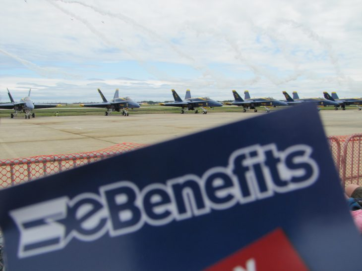Picture of eBenefits banner