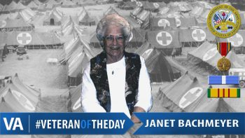 Janet Bachmeyer - Veteran of the Day