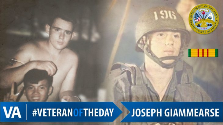 Joseph Giammearse - Veteran of the Day