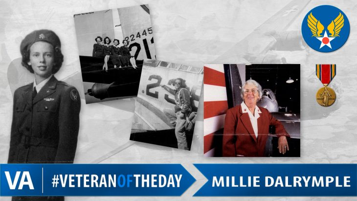 Millie Dalrymple - Veteran of the Day