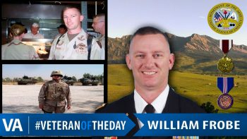 William Frobe - Veteran of the Day