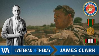 James Clark - Veteran of the Day