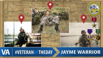 Jayme Warrior - Veteran of the Day