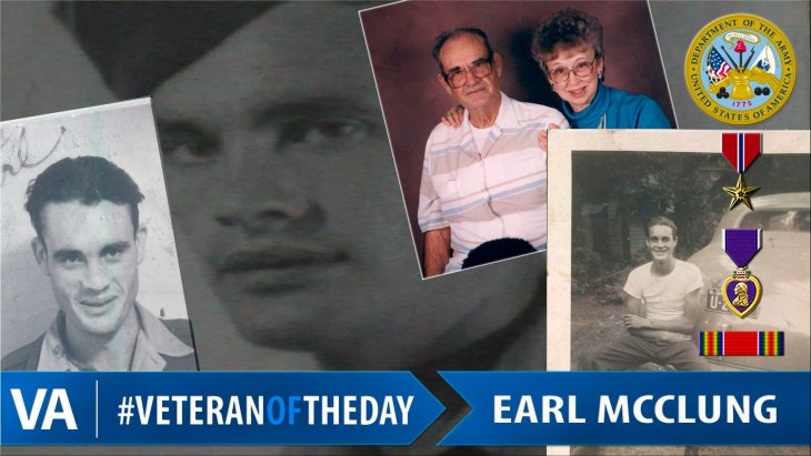 Earl McClung - Veteran of the Day