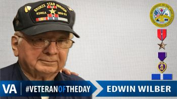 Edwin Wilber - Veteran of the Day