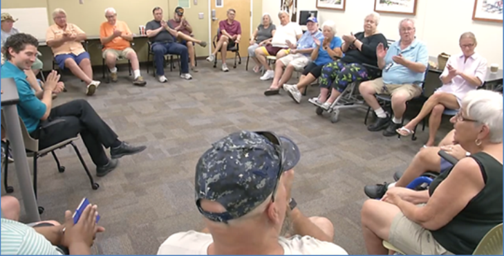 IMAGE: Bay Pines MOVE Program group session