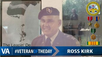 Ross Kirk - Veteran of the Day
