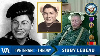 Sibby LeBeau - Veteran of the Day