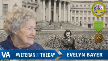 Evelyn Bayer - Veteran of the Day