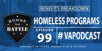 Homeless Programs - Benefits Breakdown