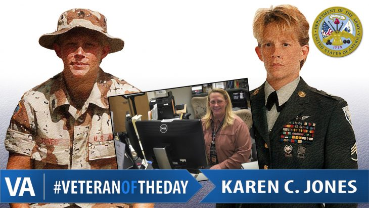 Karen Jones - Veteran of the Day