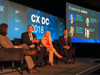 VA speaks at #CXDC