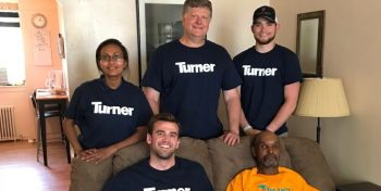 IMAGE: Turner Constriction volunteers