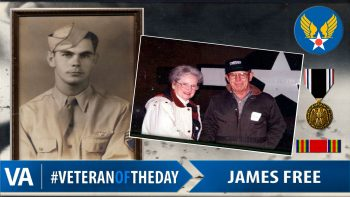 James Free - Veteran of the Day