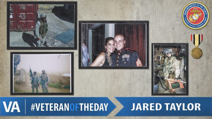 Jared Taylor - Veteran of the Day