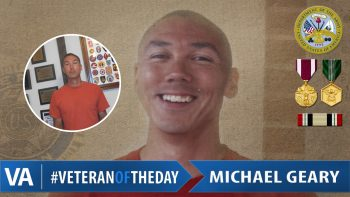 Michael Geary - Veteran of the Day