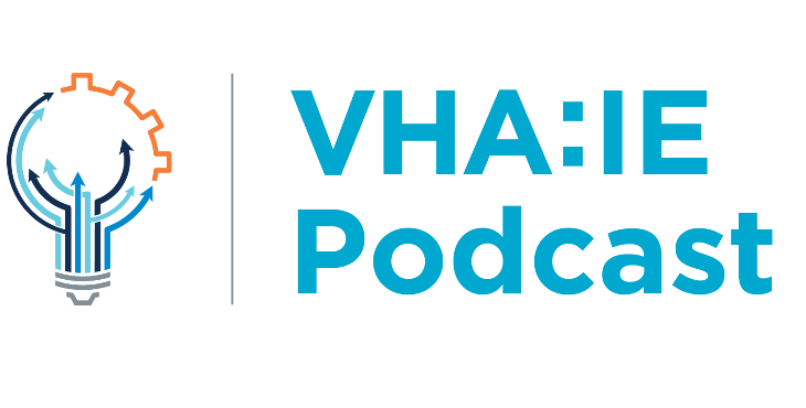 IMAGE: VHA:IE podcast graphic
