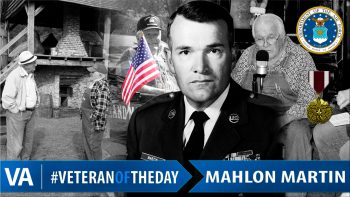 Mahlon Martin - Veteran of the Day