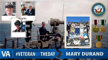 Mary Durand - Veteran of the Day