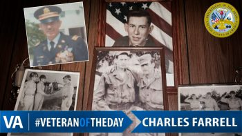 Charles Farrell - Veteran of the Day