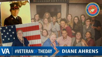 Diane Ahrens - Veteran of the Day