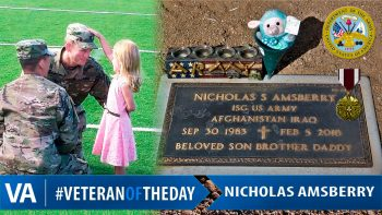 Nicholas Amsberry - Veteran of the Day