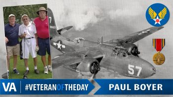 Paul Boyer - Veteran of the Day