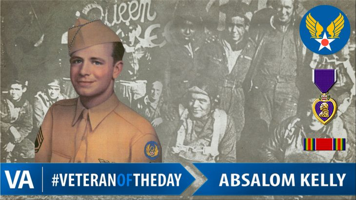 Absalom Kelly - Veteran of the Day