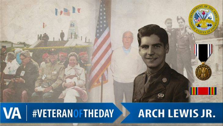 Arch Lewis - Veteran of the Day