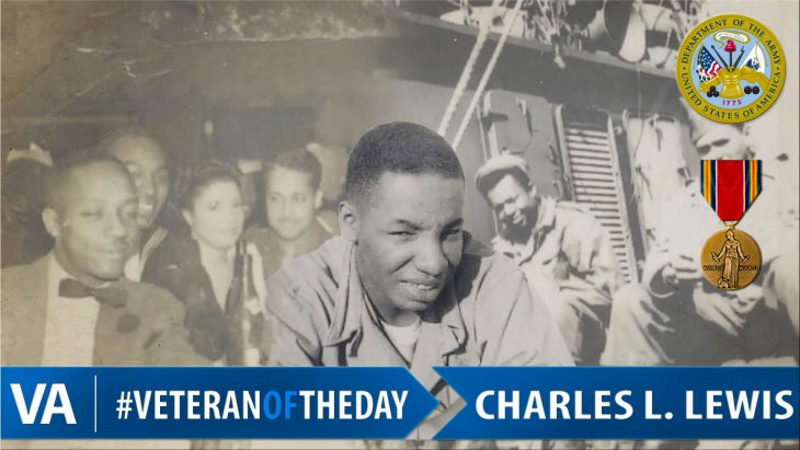 Charles Lewis - Veteran of the Day