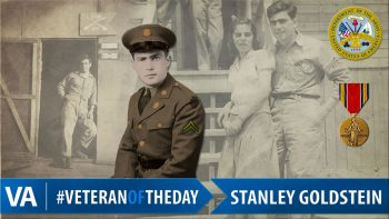 Stanley Arnold - Veteran of the Day